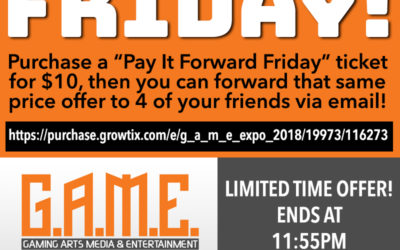 """""""PAY IT FORWARD"""" FRIDAY — only a few hours left!"""
