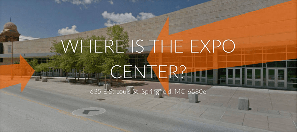 WHERE IS THE SPRINGFIELD EXPO CENTER?