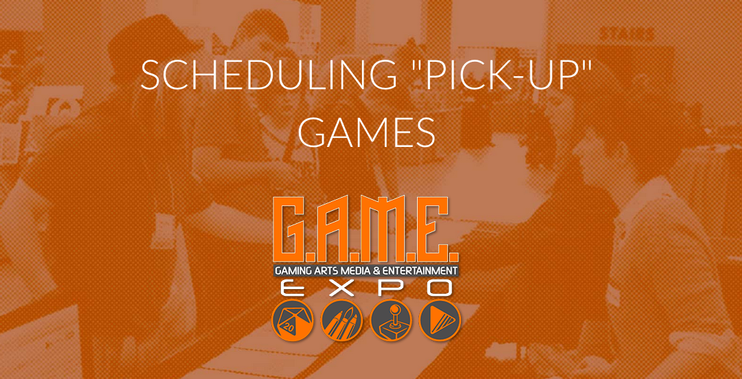 SCHEDULING PICK-UP GAMES