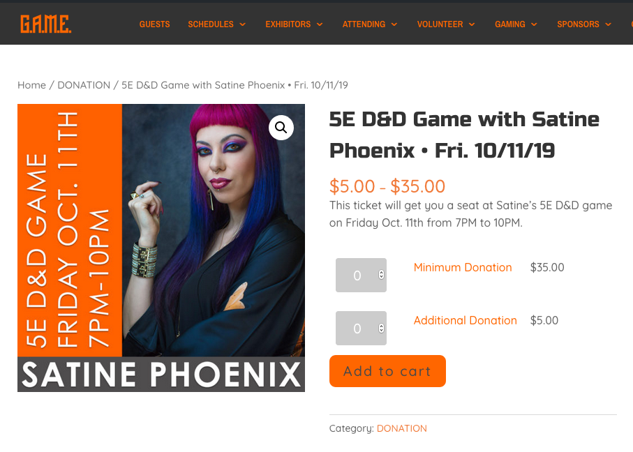 GAMING WITH SATINE PHOENIX!